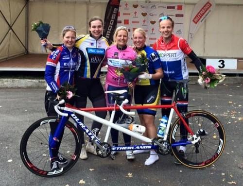 Rebecca Bouchez eerste op Para Cycling European Cup in Praag