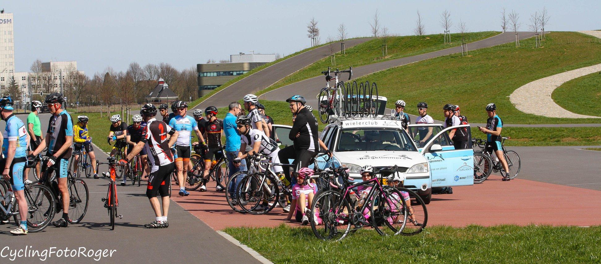 Coupe des cyclistes met mise en place 7 april 2018 wcl bergklimmers - Mise en place coupe menstruelle ...
