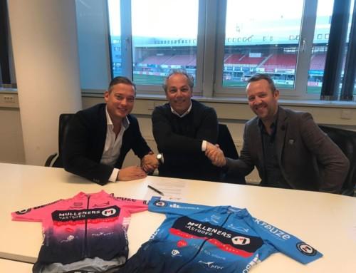 Vandaag met trots het sponsorcontract getekend met Flexprof BV uitzendorganisatie uit Maastricht.