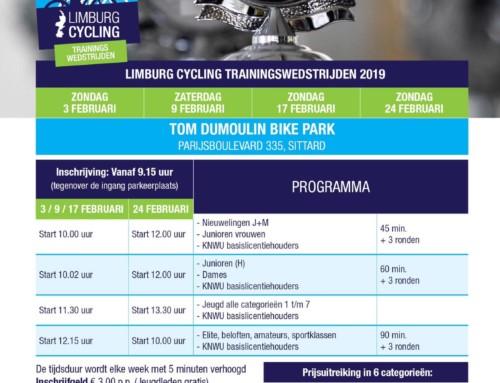 Trainingswedstrijden Tom Dumoulin Bike Park komen er aan! Zondag 3 februari de 1ste!
