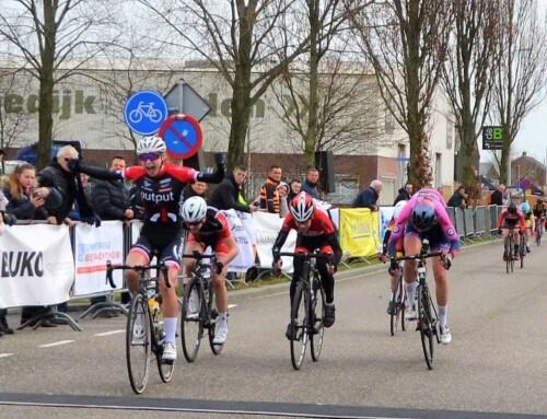 Nieuwelingen meisjes en junioren dames in klassieker Strijen (NL)
