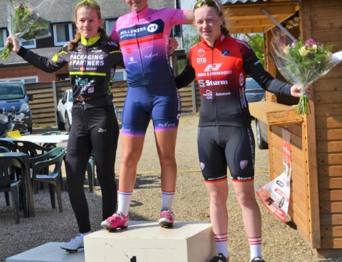 Femke Gort wint in Lommel bij de nieuwelingen meisjes!  Lieke Janssen 3e bij de junioren dames.