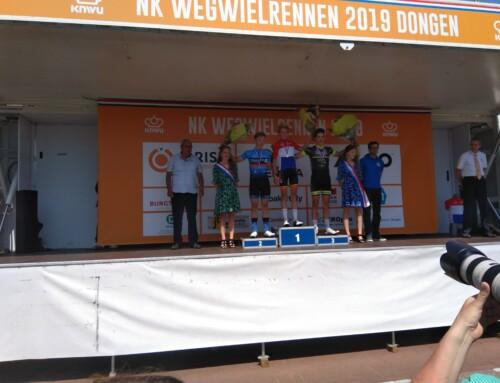 Succesvol Nederlandse Kampioenschappen Nieuwelingen en Junioren, Lars Rouffaer 2e!